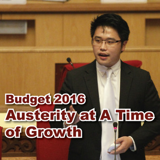 Budget 2016 - Austerity at a Time of Growth