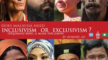 Secular vs religious; inclusivism vs exclusivism