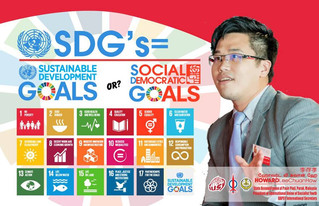 Achieving SDG's -Social Democratic Goals ; where does Malaysia stand?