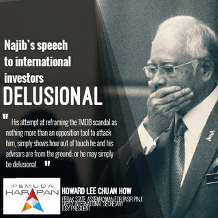 Najib's Speech to iInternational iInvestors Delusional