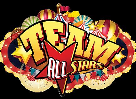 Logo Team All Stars - Acrobacia - Circo - Cheerleaders - Baile