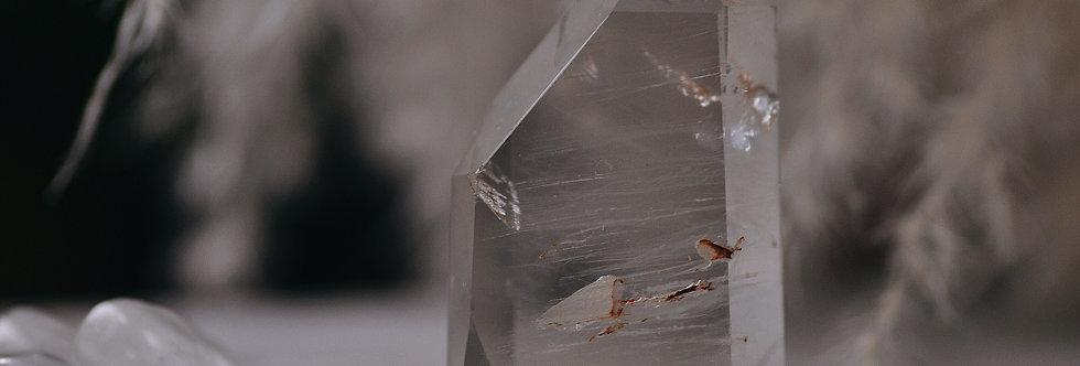 Chlorite Phantom Quartz w. Hematite