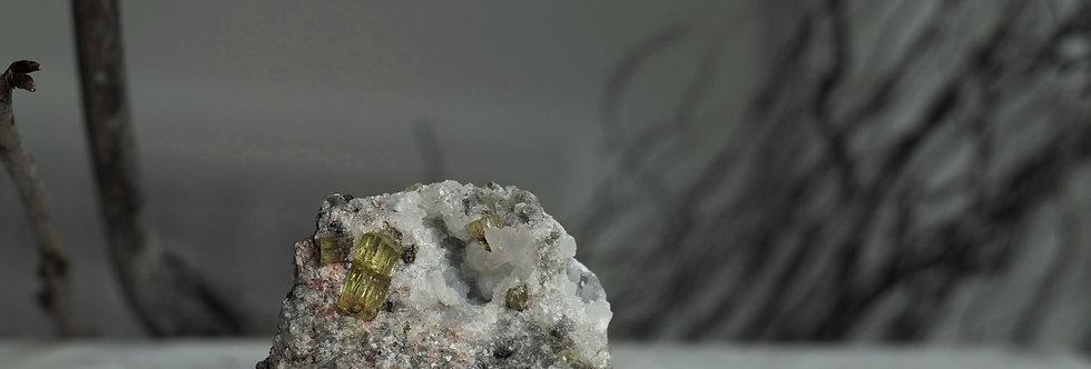 Gold Apatite
