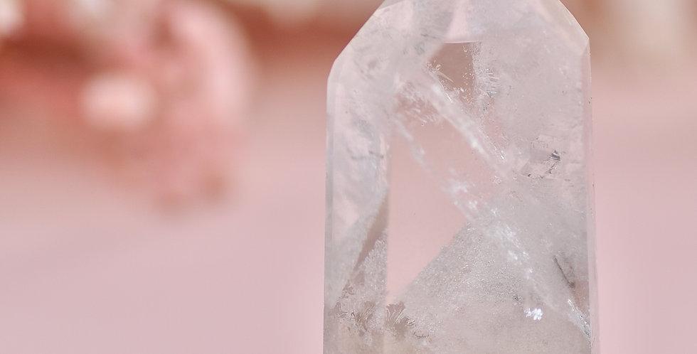 White Chlorite Phantom Quartz