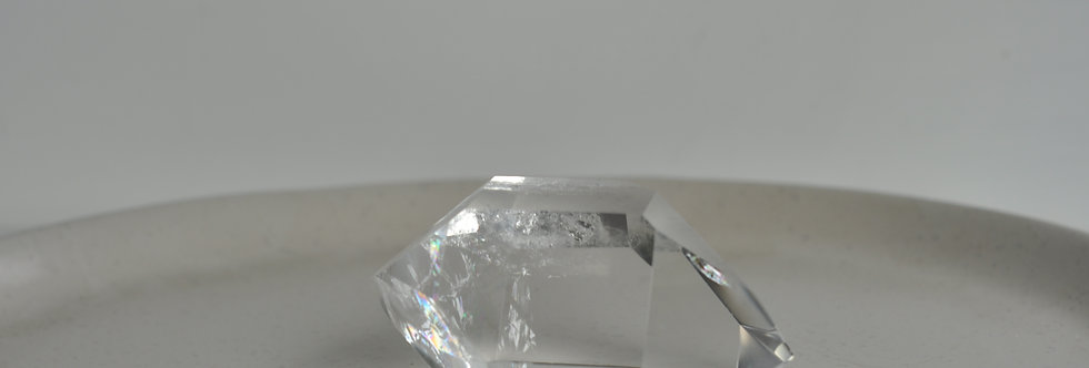 Brazilian Optical Double Terminated Quartz