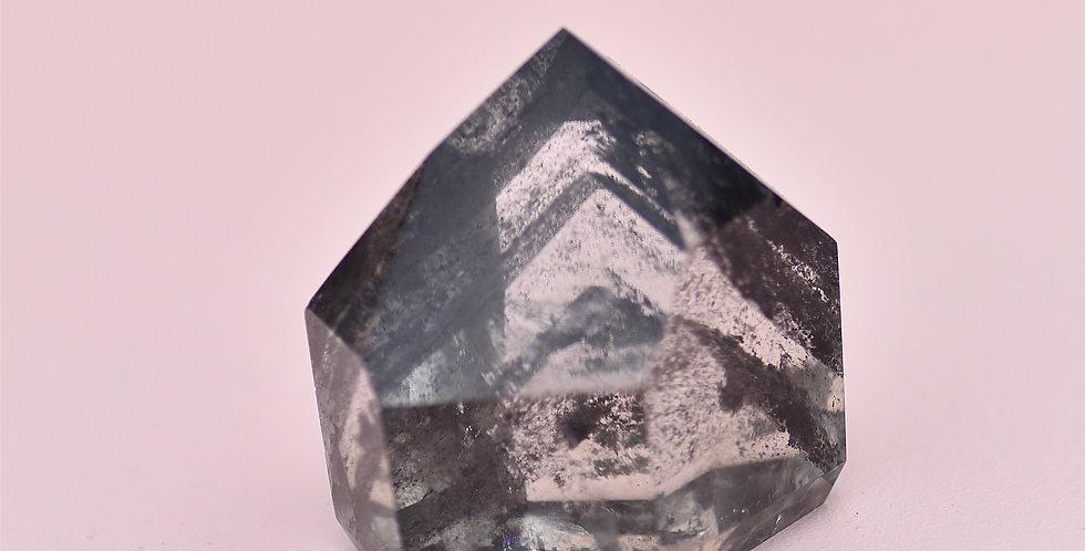 Black Phantom Chlorite + Lodolite Quartz