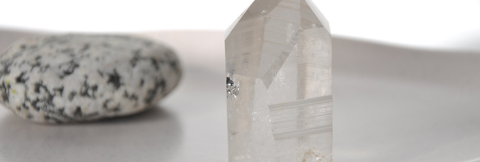 Lemurian Quartz Temple Heart