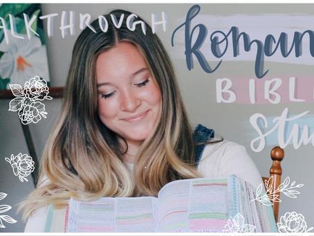Romans 6-8 Bible Study Video Notes