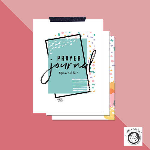 PDF Prayer Journal