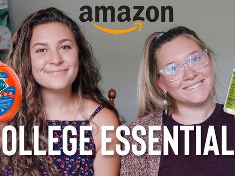 Amazon College Essentials - Everything you will need for college and your dorm room