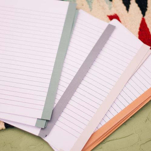 Lined Paper Refill Pack for Prayer Binder