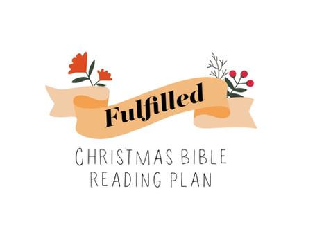 FREE Christmas Bible Reading Plan / Challenge!