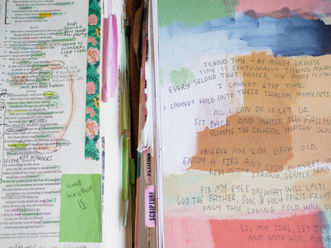 Time will never stop slipping away... Ashley's Journal #6