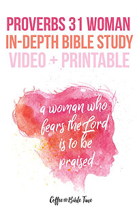 Proverbs In-Depth Bible Study