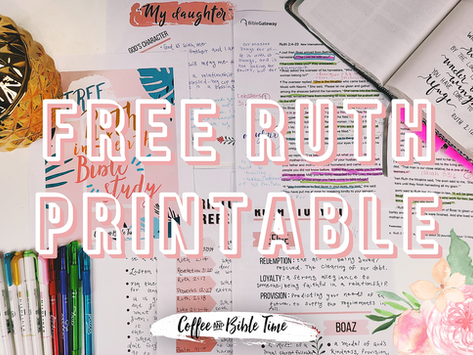 FREE In-Depth Printable on Ruth!