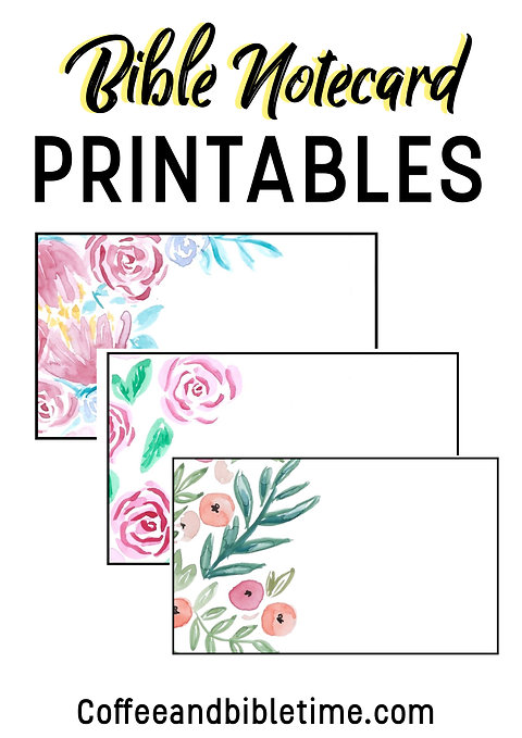 graphic regarding Printable Notecard known as Bible Notecards Printable