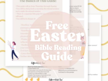 FREE Easter Bible Reading Plan