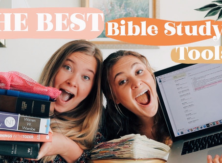 Our Top 10 Bible Study Tools!