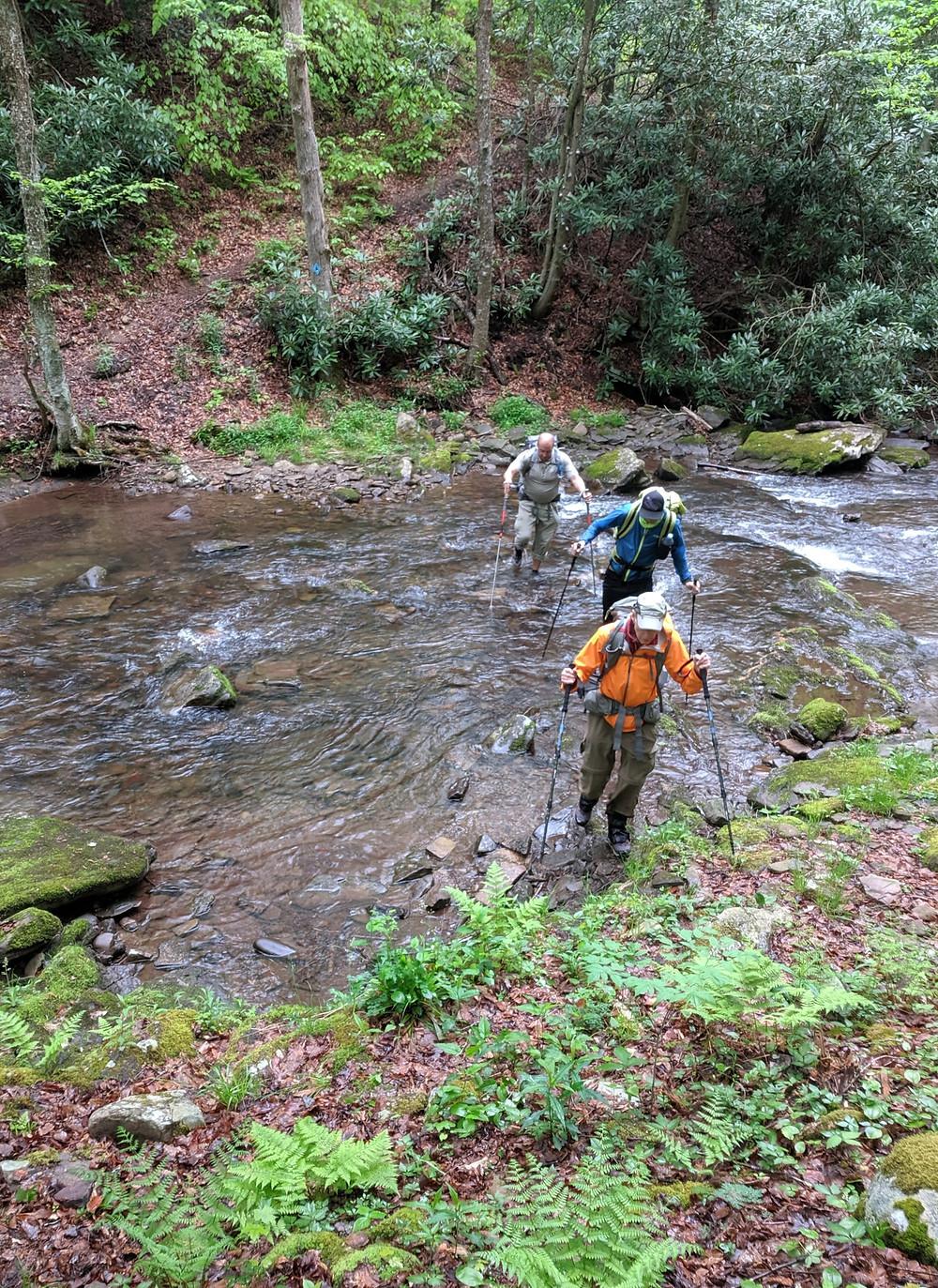 Crossing Seneca Creek