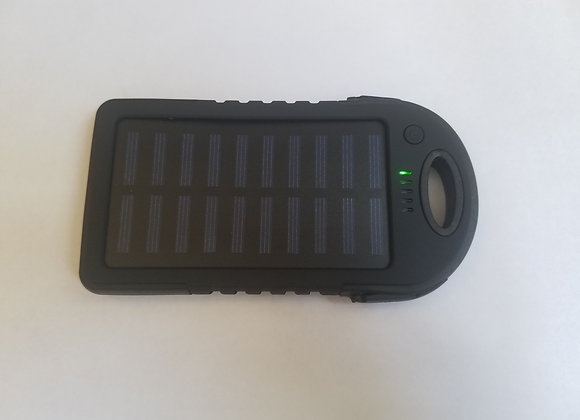 5000 mAh Battery Pack Solar Charger