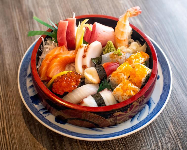 Sashimi and Sushi Combination