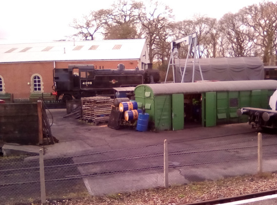 Yard at Haven Street