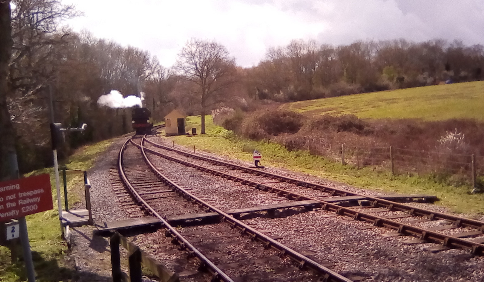 Running round at Smallbrook Junction