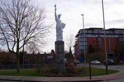 Statue of Liberty, Leicester