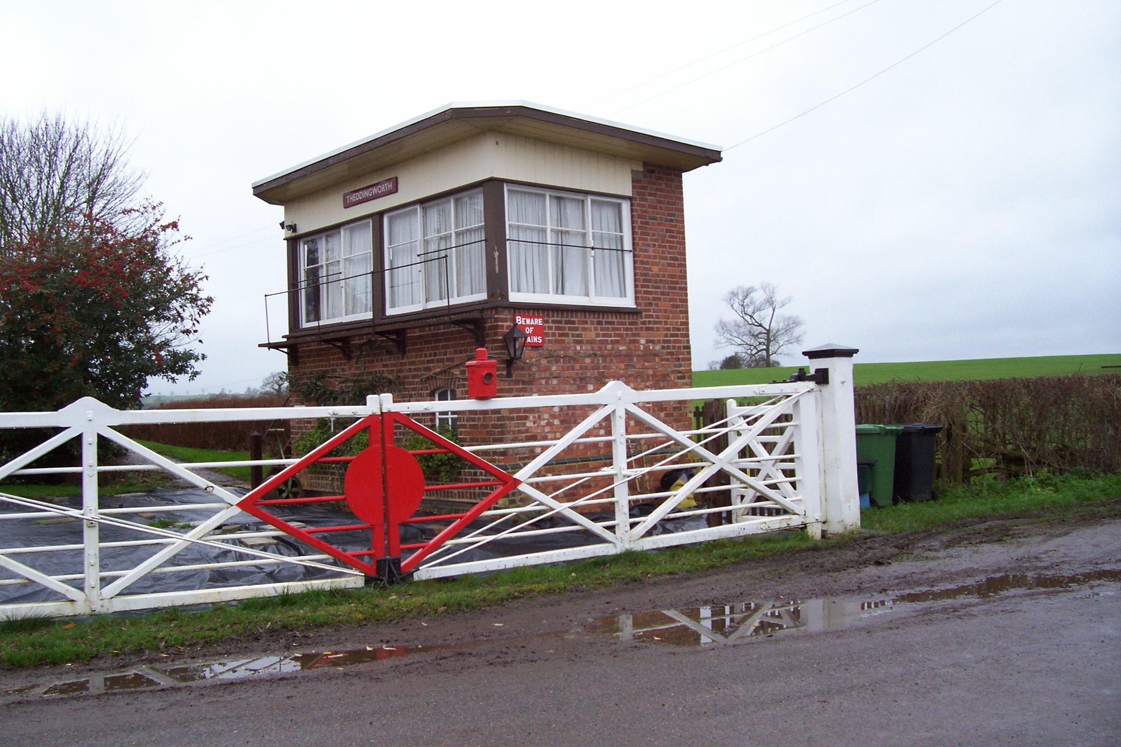 Theddingworth Signal Box