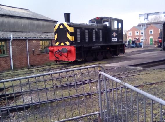 D2059 Diesel Shunter