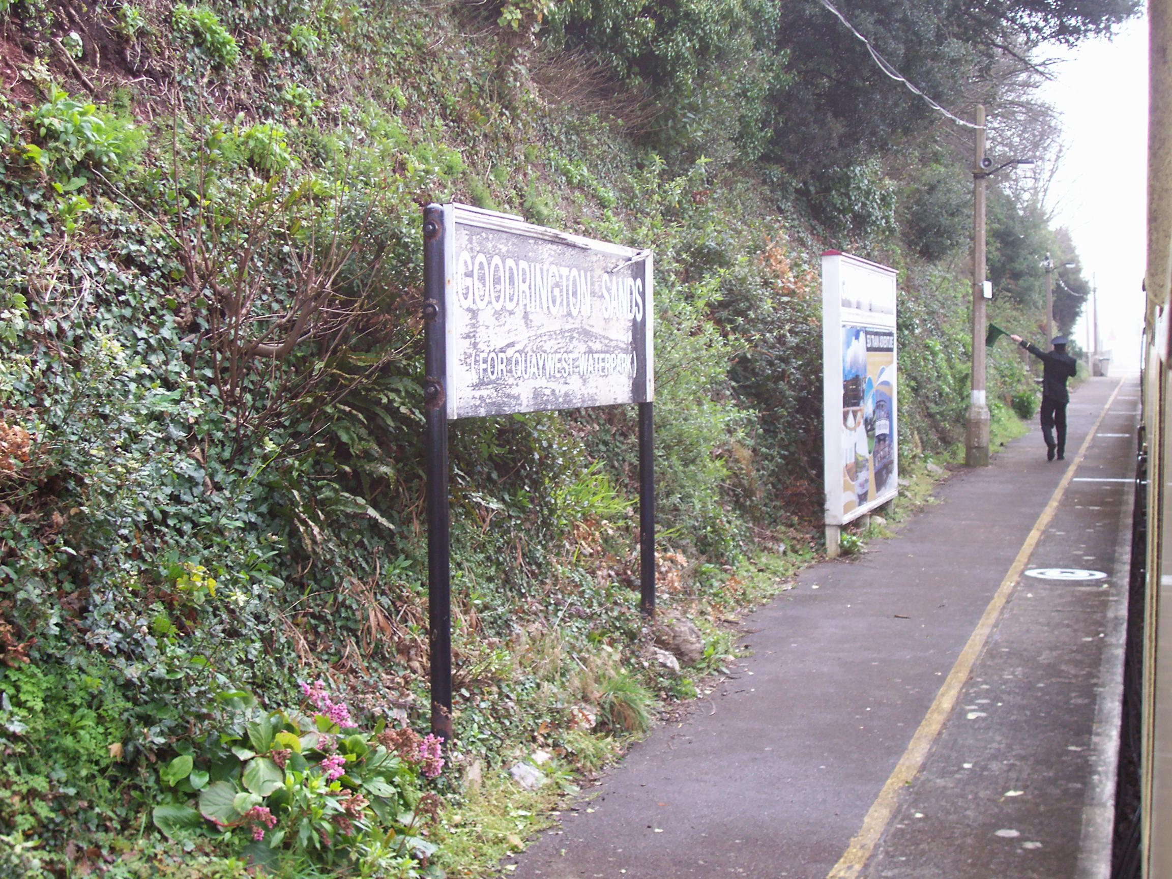 Goodrington Sands Halt