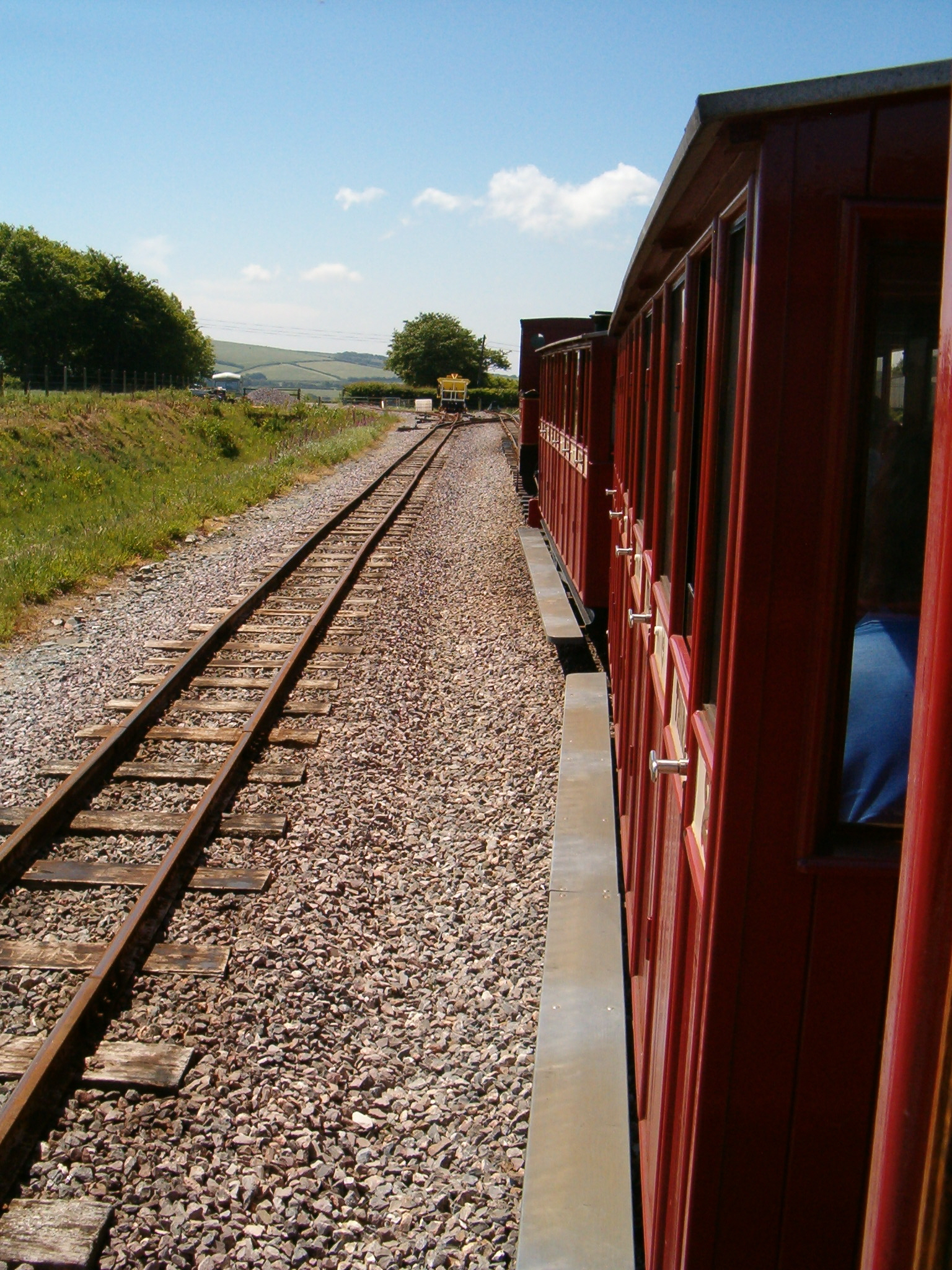 Departing Killington Lane