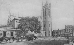 All Saints Church & Taxi Rank