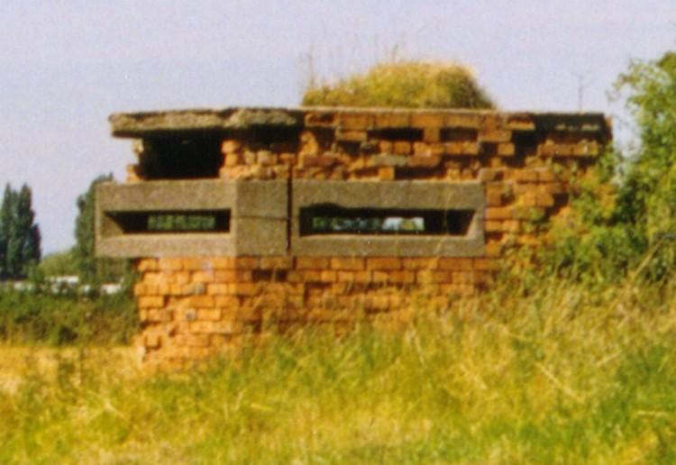 Nutts Lane Pillbox, Hinckley
