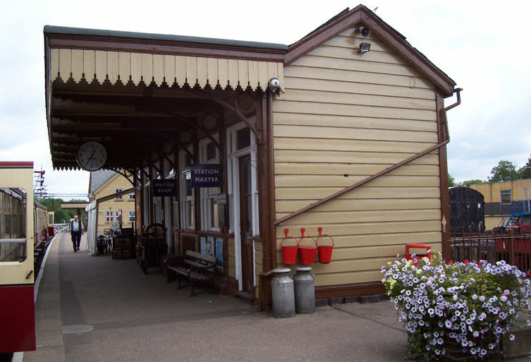 Wansford Up Platform