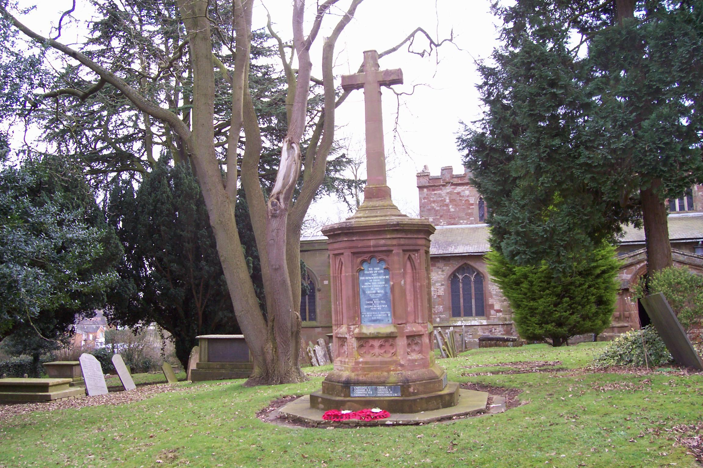 War Memorial, Newbold on Avon