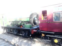 Saddle Tank at Shenton