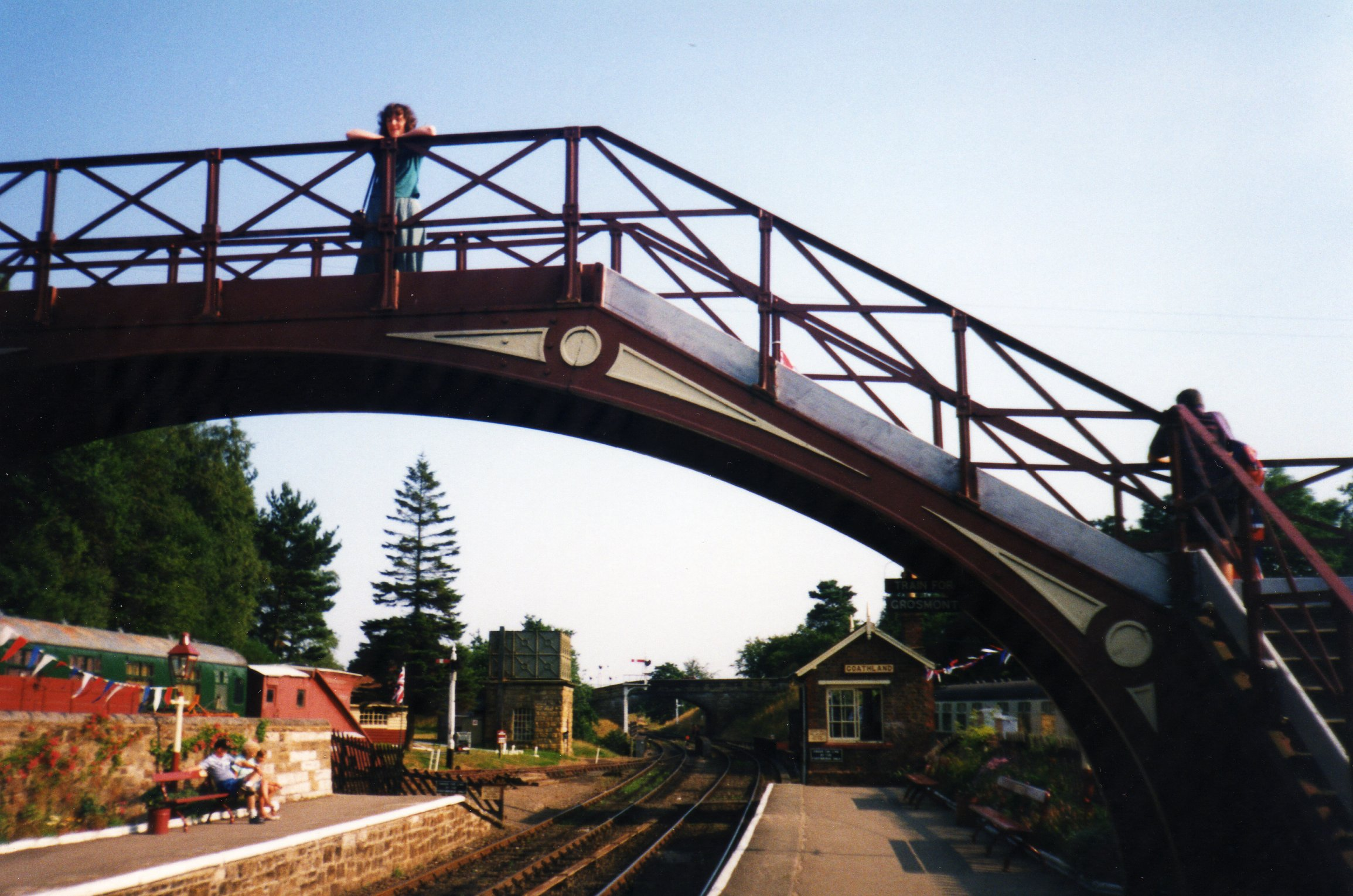 Goathland footbridge