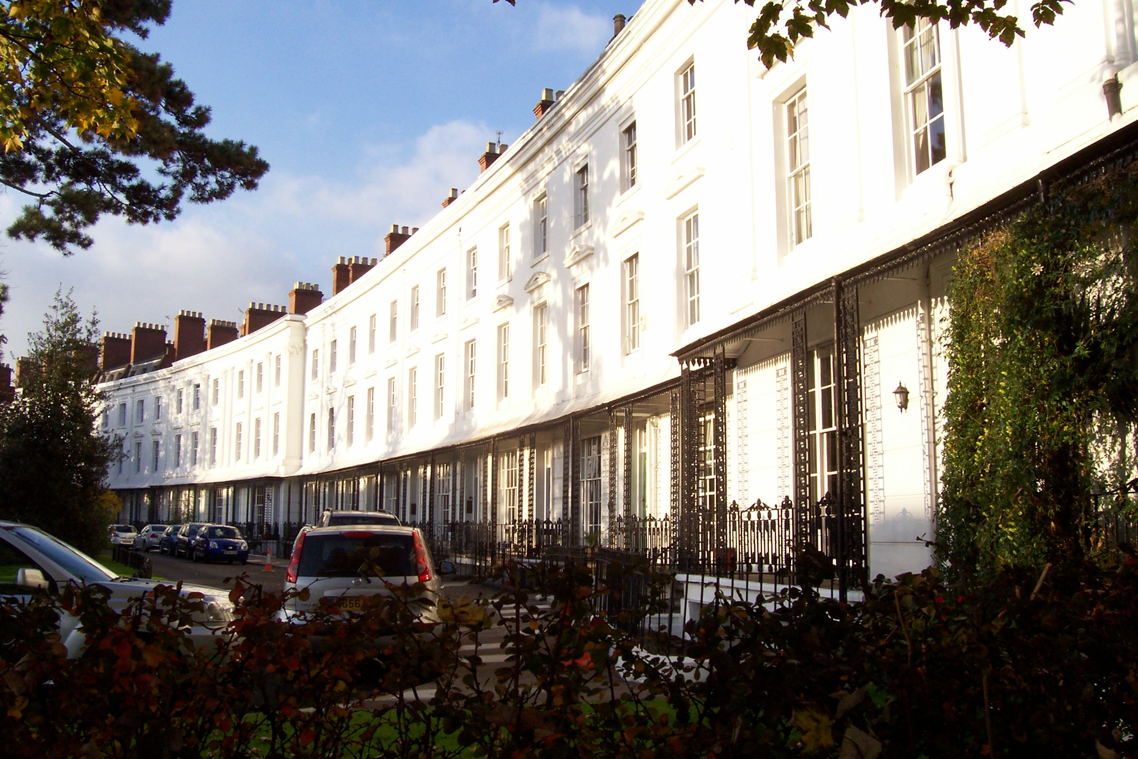 Lansdowne Crescent from east