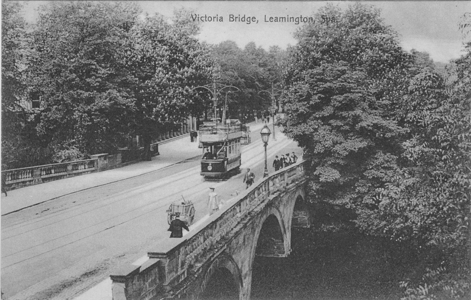 Victoria Bridge & Tram