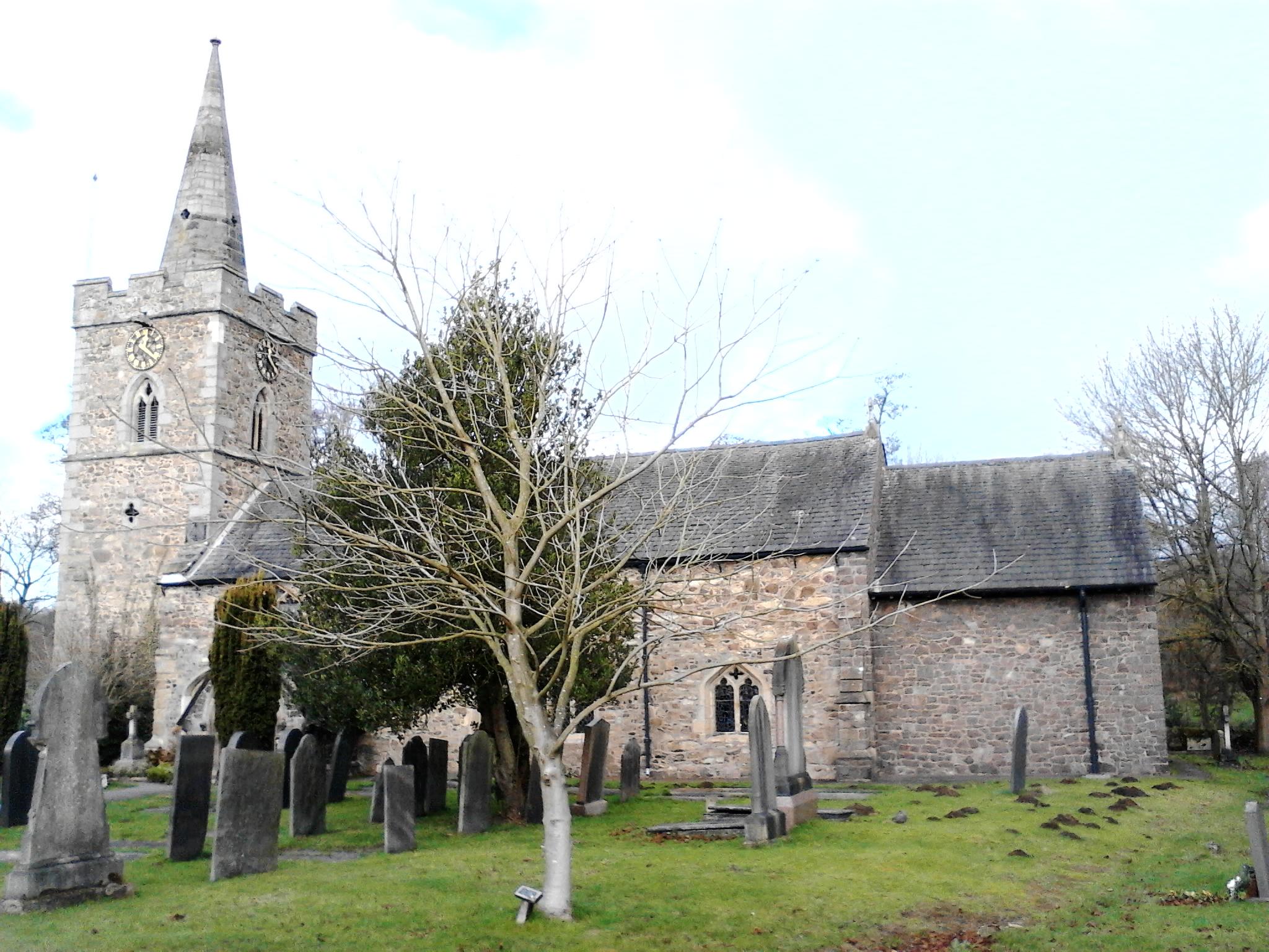 All Saints, Newtown Linford