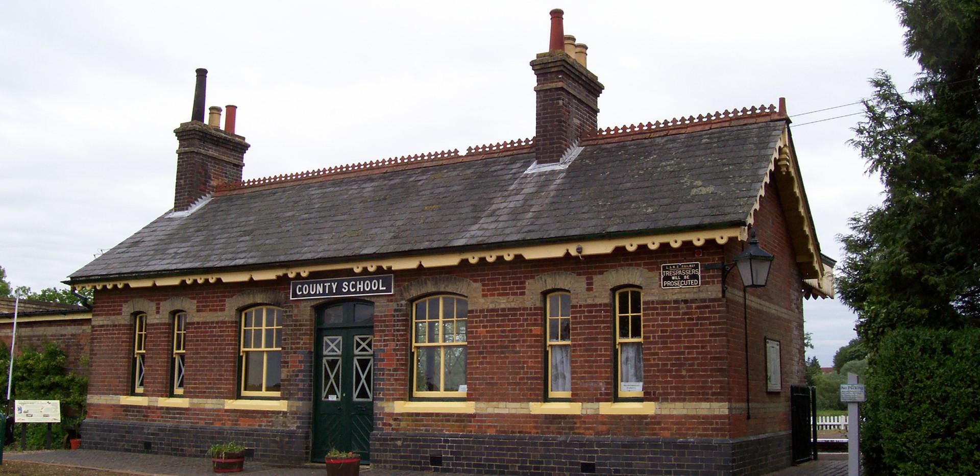 County School Station