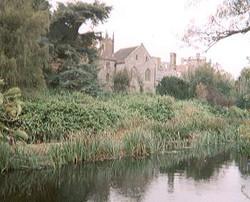 View across the River Avon
