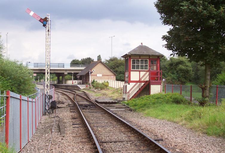 Orton Mere Station