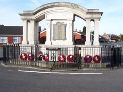 War Memorial, Ibstock