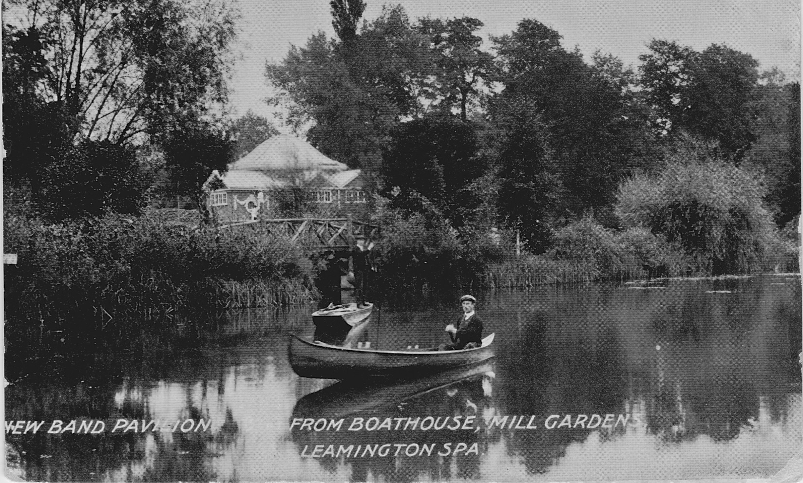 The Pavilion from Mill Gardens
