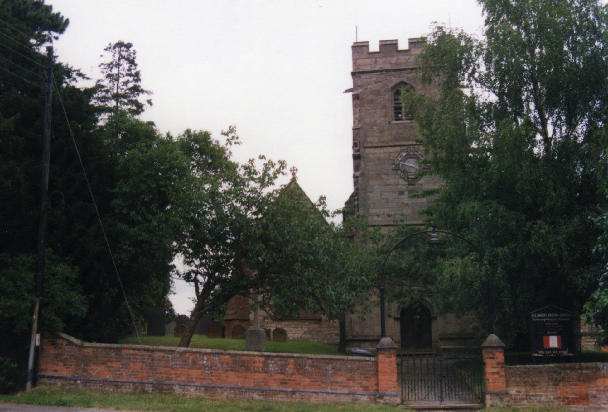 All Saints, Harborough Magna