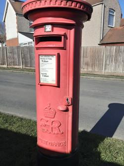 Postbox Earl Shilton