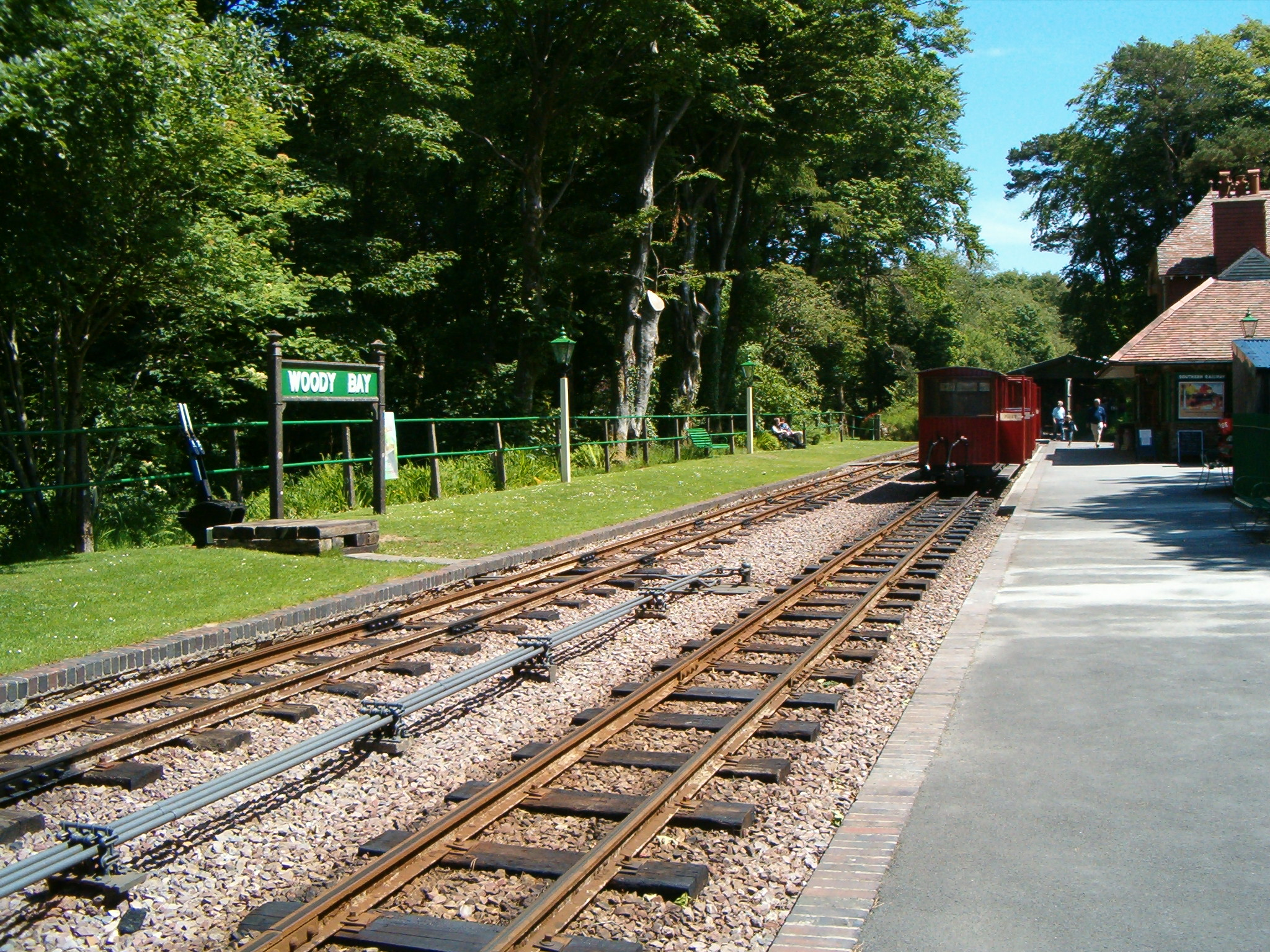 Carriages at Woody Bay
