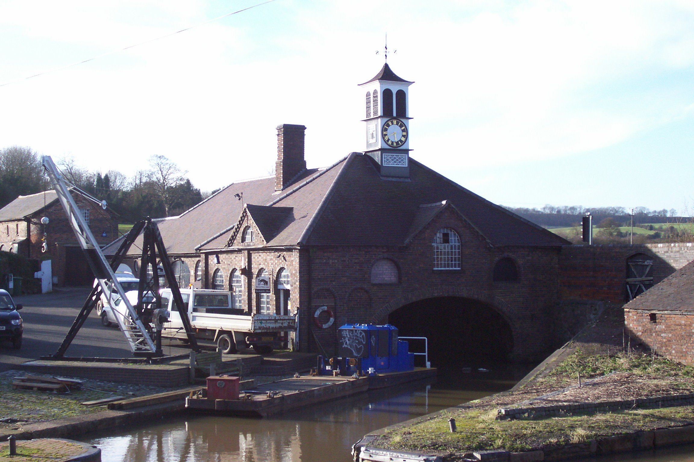 Hartshill Maintenance Boatyard